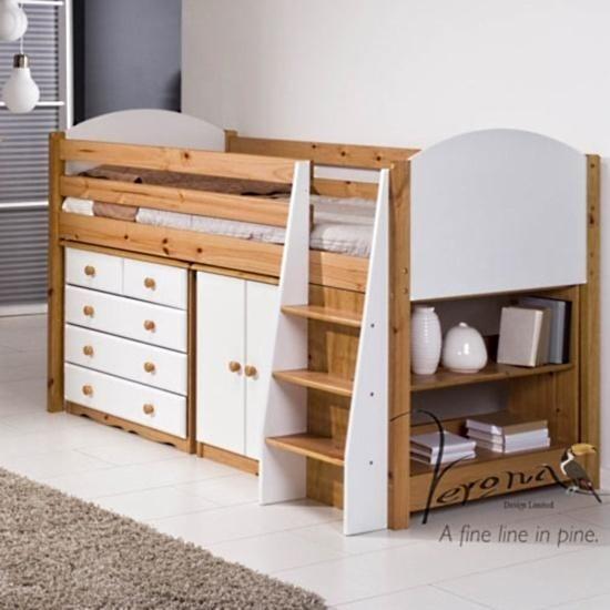 verona midsleeper storage set u2013 next day delivery verona midsleeper storage set from worldstores everything for the home