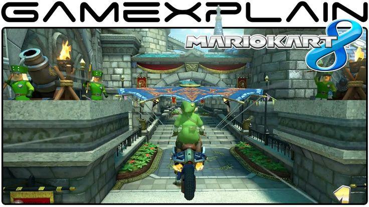 Mario Kart 8 DLC: Hyrule Circuit & Link Gameplay (1080p 60fps)