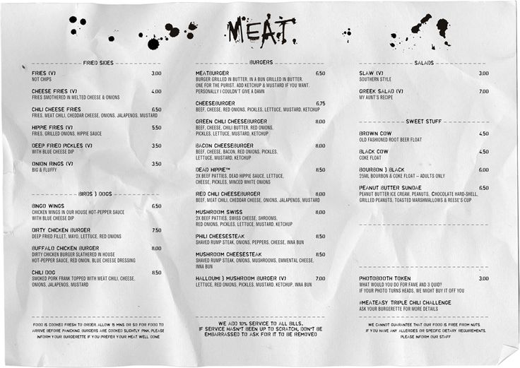 MEATliquor Meat, Liquor, Burgers, Cocktails and Beer Menus from - beer menu