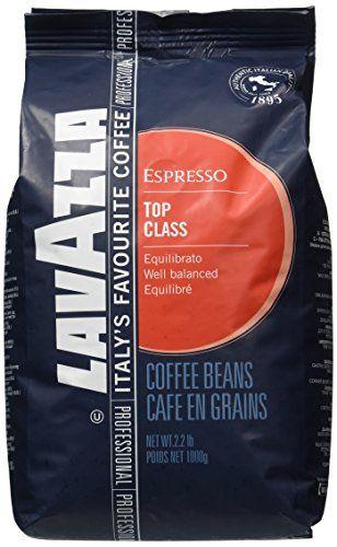 Lavazza Top Class Espresso Whole Beans Coffee 2.2lb/1kg * Click image for more details. #CoffeeMachineAccessories