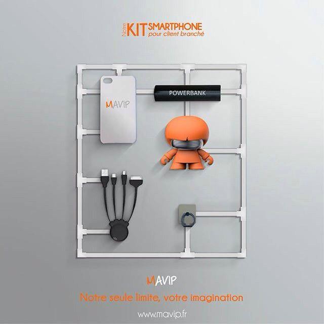 Notre kit Smartphone, pour client branché !