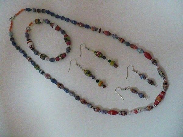 Magazine Bead Jewelry - Thrifty Fun