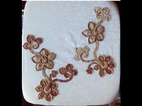 """Irish lace Уроки вяз крючком ирландского кружева. 4й Урок Вяжем жакет""""Ка..."""