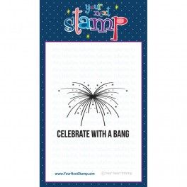 Your Next Stamp - Clear Stamps - Fireworks