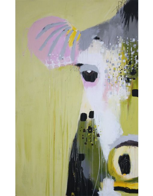 Bettina Holst - acrylic painting / akryl maleri