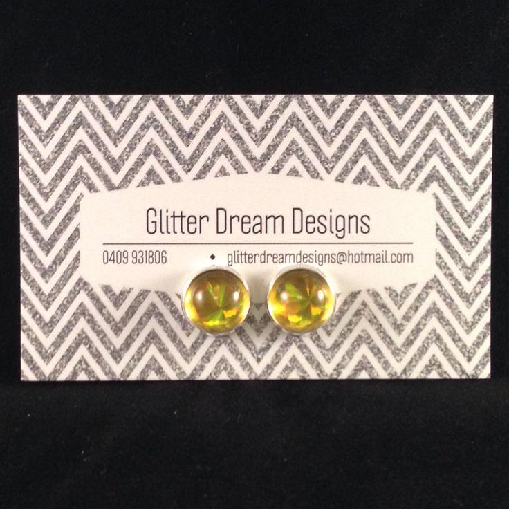 Order Code E1 Cabochon Earrings