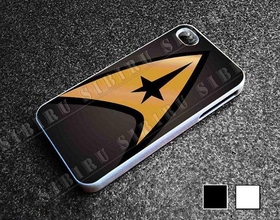 Unique Star Trek Logo for iphone 4/4s case iphone by SIBIRU, $13.00