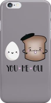 cute phone case, iphone case, samsung galaxy case, love, french toast, pun, parody, breakfast, eggs, toast, france, paris, beret, kawaii, coffee, morning, scrambled, bread, brunch, you, me, oui, love, marriage, math, travel, relationship, bonjour, eiffel, cute, couple, sweet, sweethearts, sunday, funny food, recipes, french, pancakes, waffles, syrup, chicken, ingredients, humor, proposal