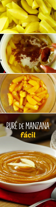 No hay nada más fácil que este puré de manzana de 4 ingredientes. Es una guarnición para pavo ideal en Navidad o Año Nuevo