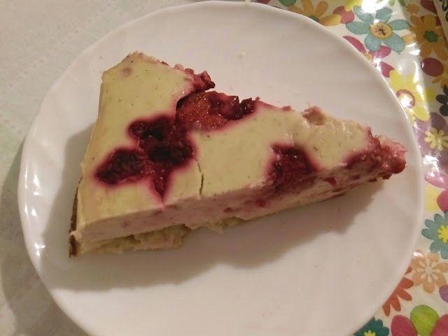 ☽○☾: Zdravý tvarohový dort bez cukru a mouky