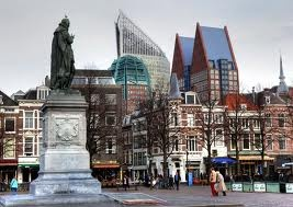 Den Haag,The  Netherlands.The city center.