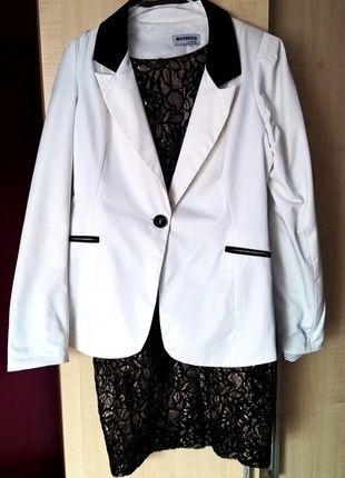 Kup mój przedmiot na #vintedpl http://www.vinted.pl/damska-odziez/marynarki-zakiety-blezery/14758988-biala-marynarka-mosquito