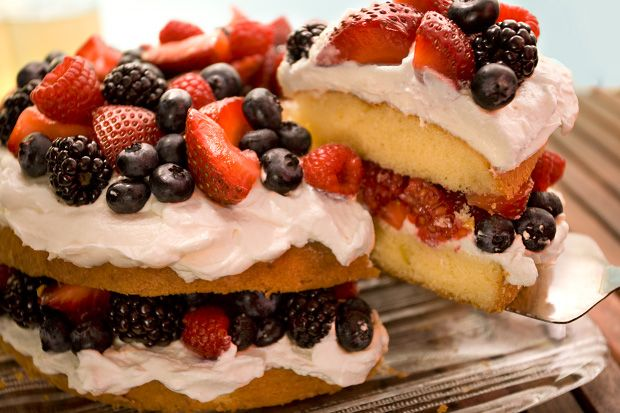 Easy Berry Butter CakeBerries Cake, Cake Recipe, Berries Butter ...