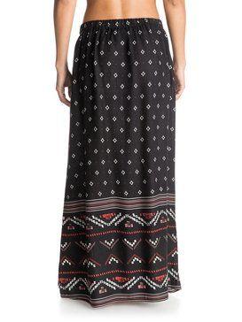 roxy, Solida Maxi Skirt, BIG GYPSY BORDER PLT FOR SOLID (kry6)