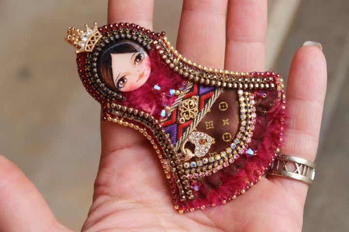Art doll, OOAK, Fantasiria on Etsy