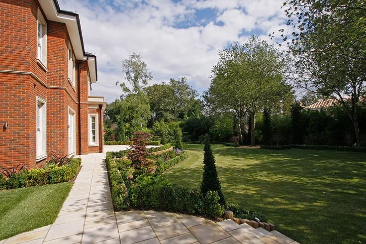 Surrey mansion exteriors by Macassar Properties - London investment and development company