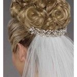 Hairstyles, Wedding Hair And Veil: Hairstyles with…