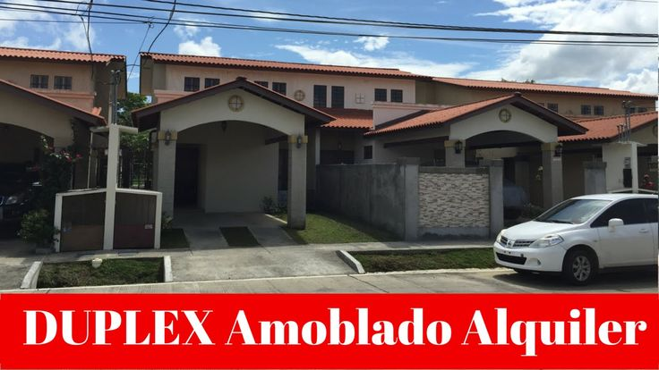 #Alquiler de #Duplex #Amoblado al Lado del #Mall #Chiriquí. #Furnished #Duplex #for #rent close to Mall Chiriquí. #Panamá.