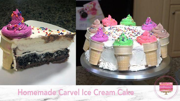 Homemade carvel ice cream cake icecreamcake carvel ice