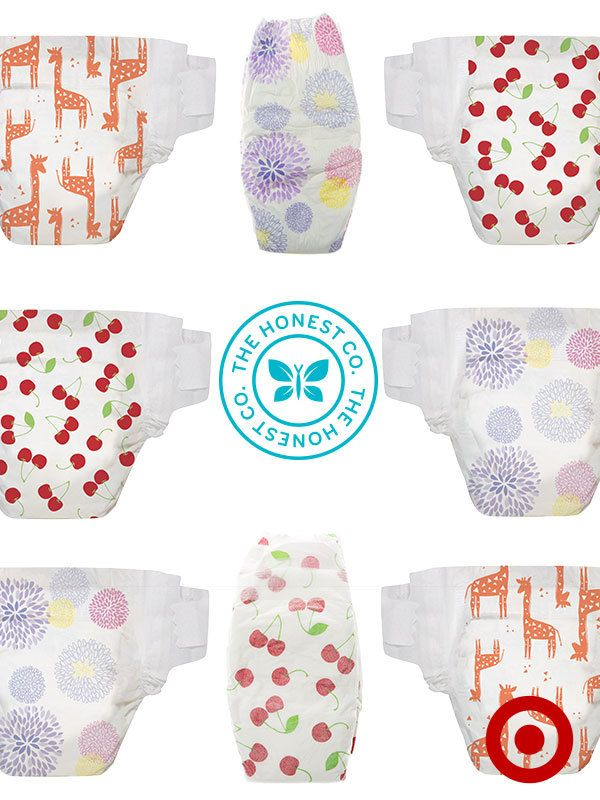 Premium and eco-friendly, The Honest Company diapers are ultra absorbent and ultra adorable!