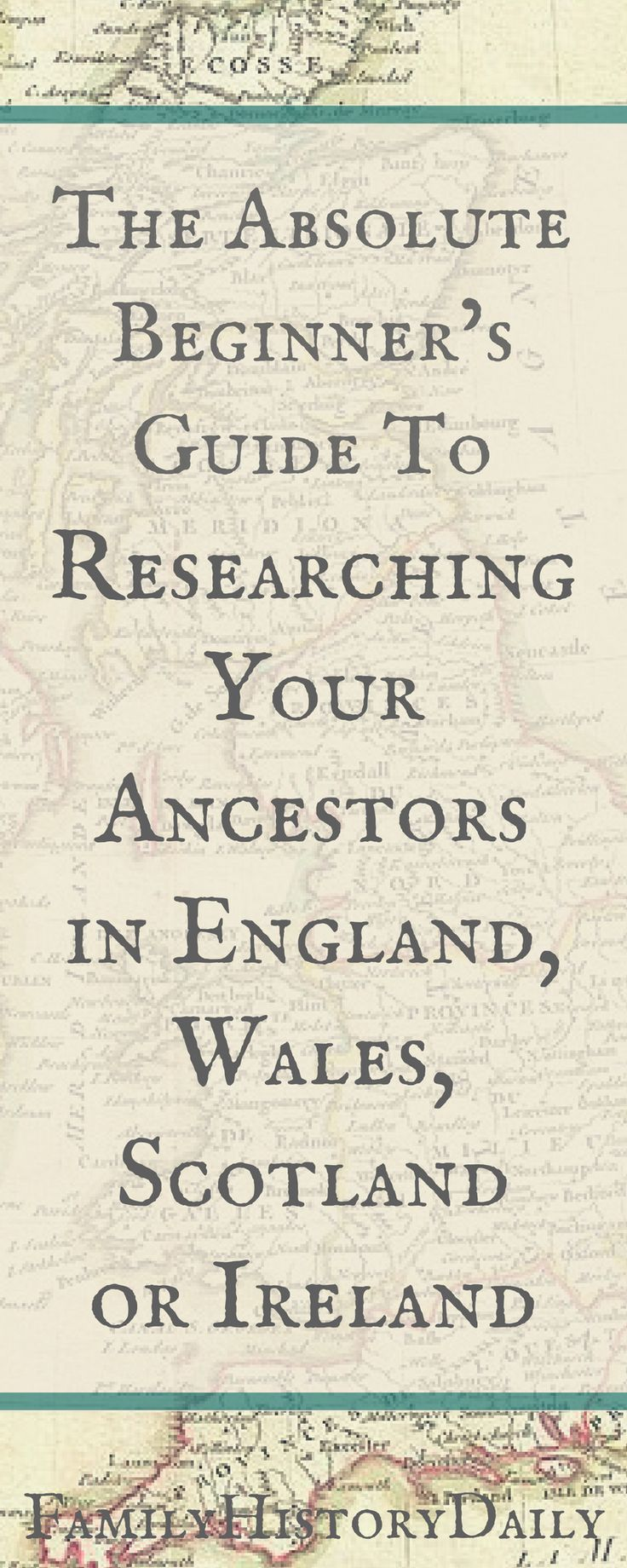 Does your ancestry lead you back to England, Ireland, Scotland or Wales? Use this genealogy beginner's guide get started researching your British Isles ancestors today.