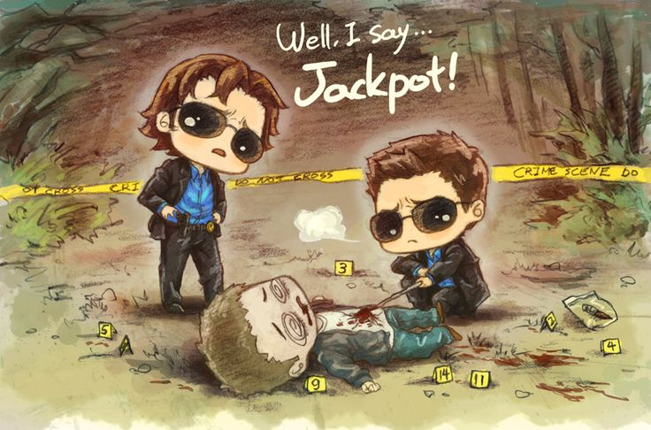 Well, I say Jackpot LOL #Supernatural #fanart