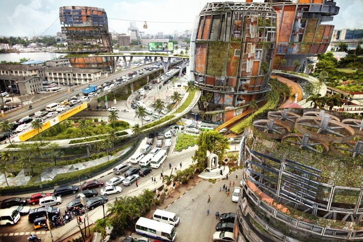 A Nigerian-American architect imagines one of the densest, fastest-growing cities in the world.