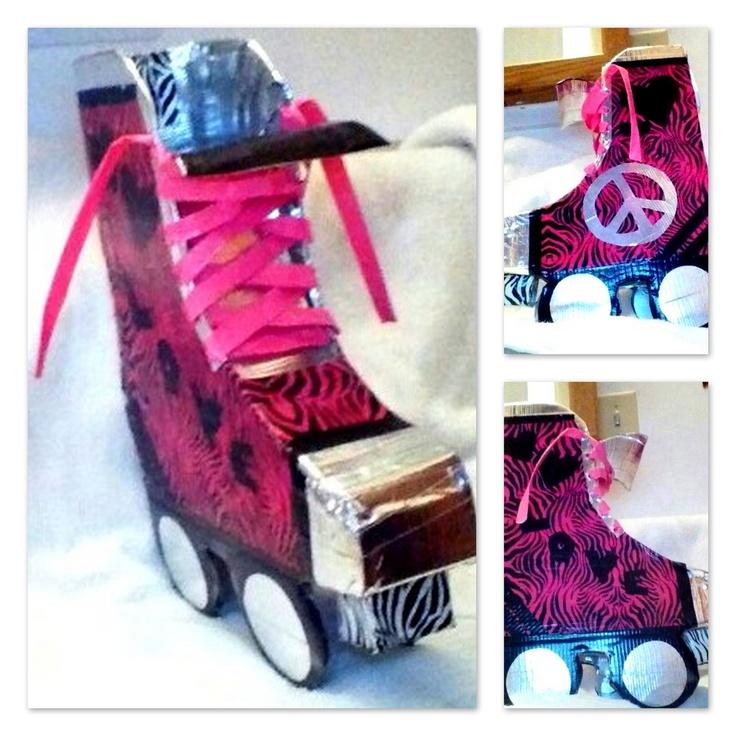 Autumn's DIY Valentines Box - Skate