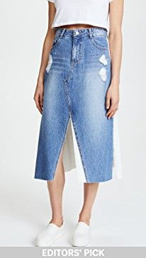 New SJYP Front Long Denim Skirt online. Find great deals on Monique Lhuillier Bridesmaids Clothing from top store. Sku sfmu26971hlqh52129