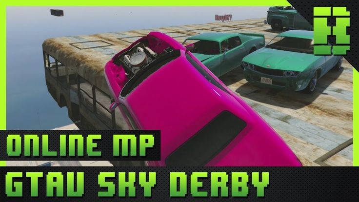 Welcome to some GTA 5 Gameplay. This video is showing the highlights from the GTA V Custom Mission Sky Demolition Derby DeathMatch.  The GTA V PC Gameplay has been made using the Grand Theft Auto V open world action-adventure video game developed by Rockstar North and published by Rockstar Games. It was released on 17 September 2013 for the PlayStation 3 and Xbox 360. An enhanced version of the game was released on 18 November 2014 for the PlayStation 4 and Xbox One and 14 April 2015 for…