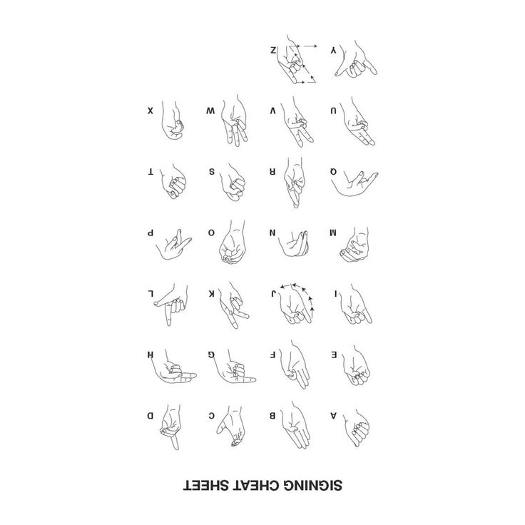 Best Products Images On   American Sign Language