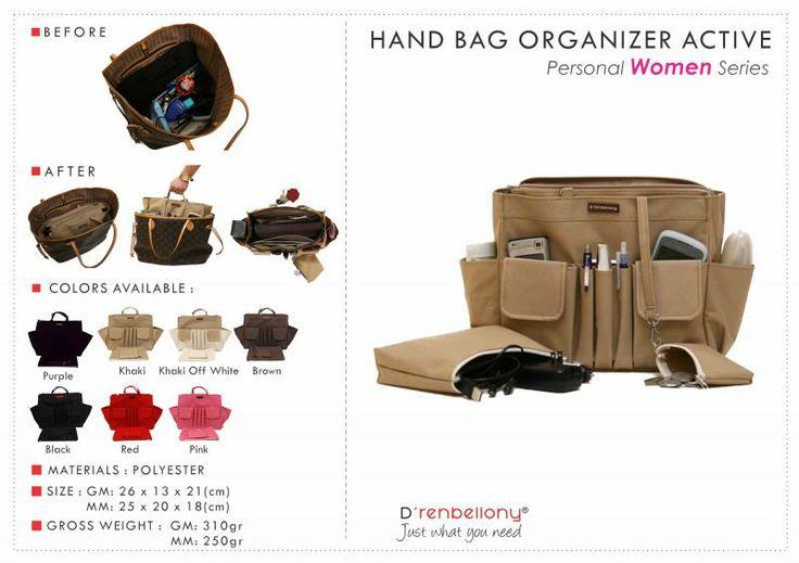 Hand Bag Organizer Active (HBO Active) GM - D'renbellony