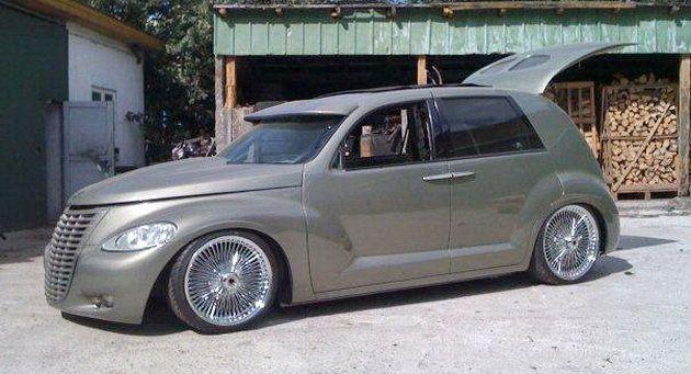 tricked out pt cruiser fantasy wheels pinterest them. Black Bedroom Furniture Sets. Home Design Ideas