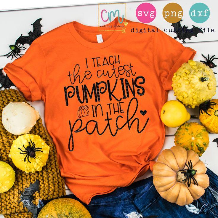 I Teach The Cutest Pumpkins In The Patch Cute pumpkin
