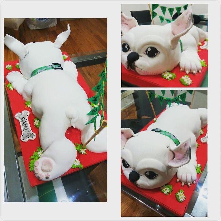 ¡Torta Bulldog Frances!