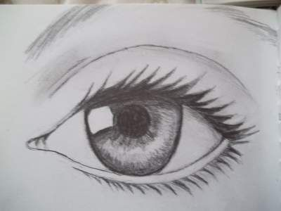 Behind the eye | Teen Pen & Ink About objects, teens, eyes and pencil drawing great model for starters! really helped me
