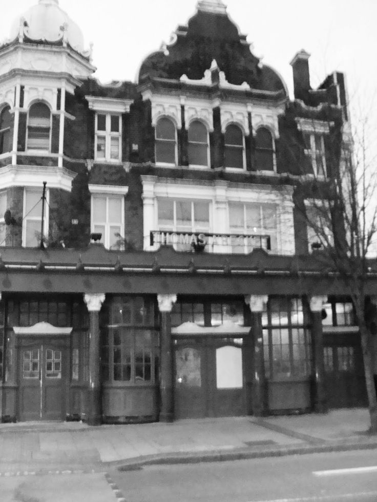 historical public house thomas a beckett in london england was the ...