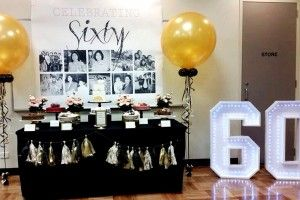 Fabulous 60th Party