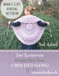 Hier kommt er unser Kreisweste Crochetalong. Vielleicht hast du ja schon darauf gewartet. In den letzten Wochen haben wir an einem Crochetalong gewerkelt.