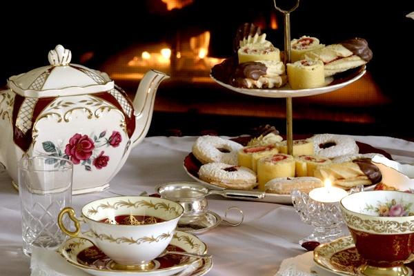 Food Served At British High Tea