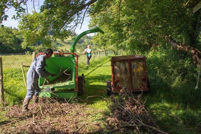 Domaine du Martinaa : Elevage, Gourmandise, Jardinage et Partage: Broyage economique plantation
