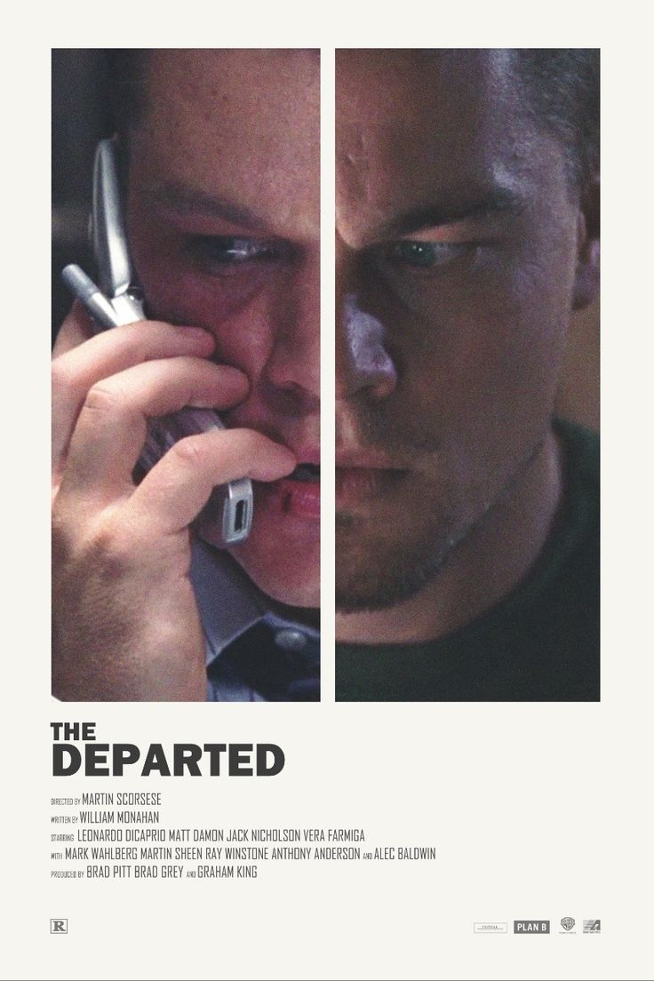 The Departed alternative movie poster Visit my Store