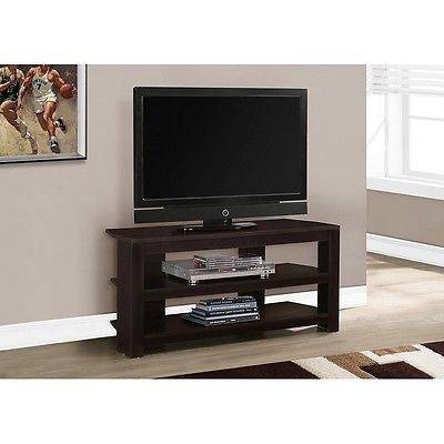 Entertainment Units TV Stands 20488: Monarch Tv Stand - 42 Inch L Cappuccino Corner I-2568 -> BUY IT NOW ONLY: $76.82 on eBay!