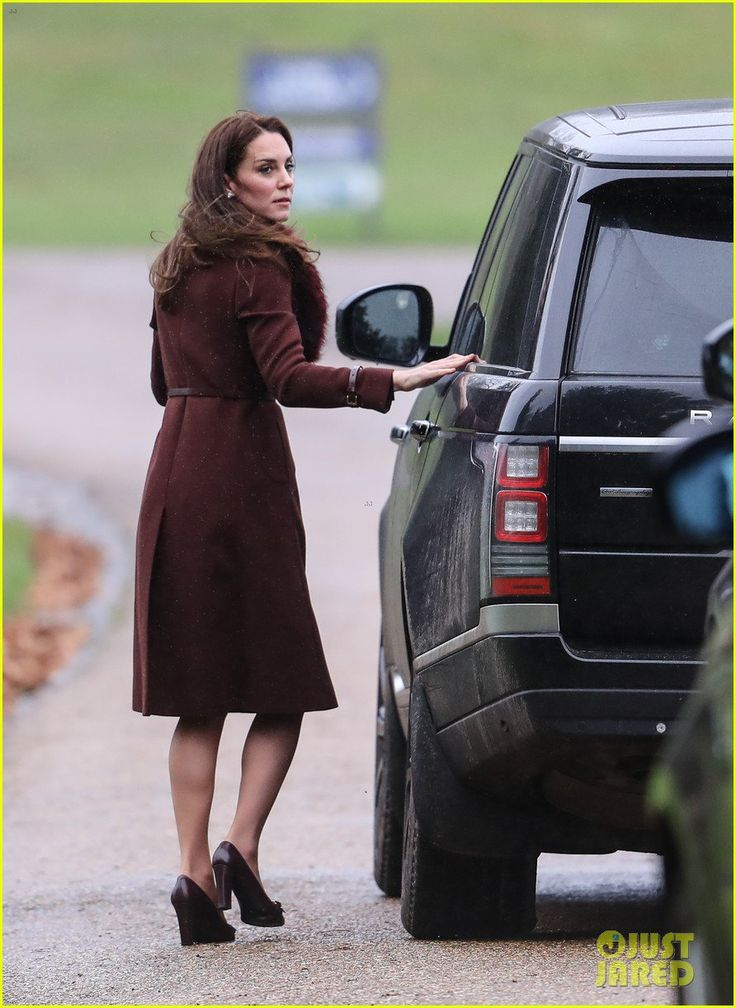 Catherine Duchess of Cambridge attends Church on Christmas Day on December 25 2016 in Bucklebury Berkshire