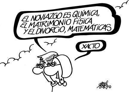 Química, física y matemáticas...