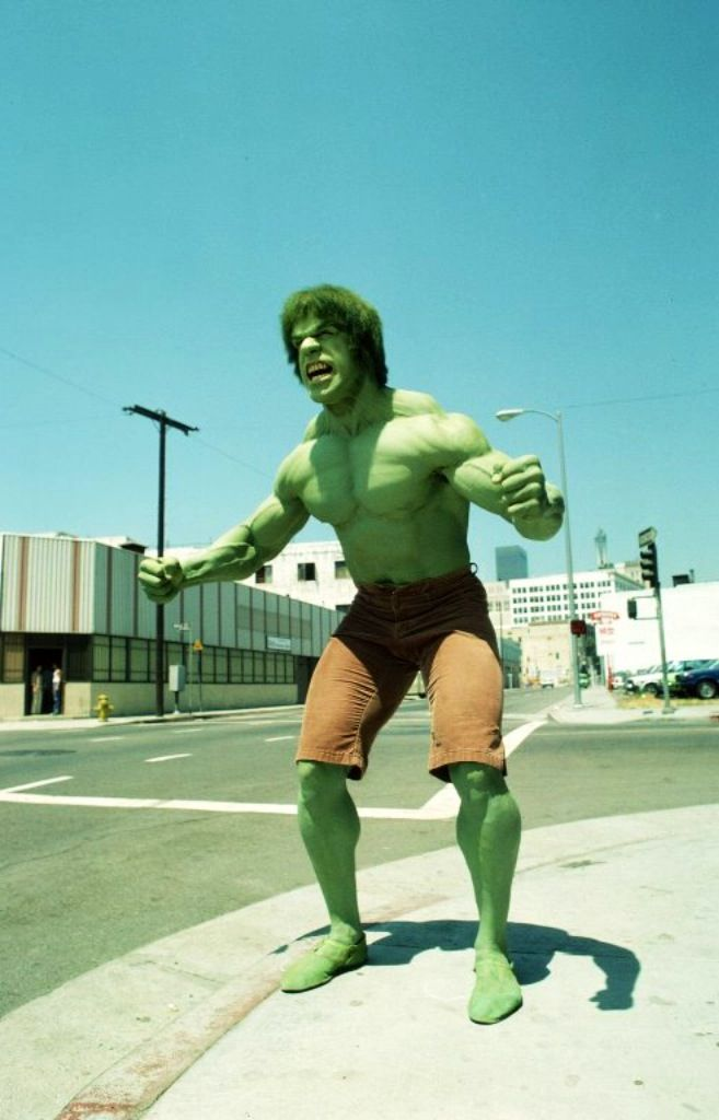 Lou Ferrigno... Simply the best!