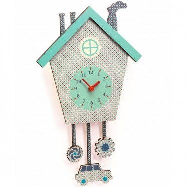 Horloge 'Coucou Caro' DJECO 3291