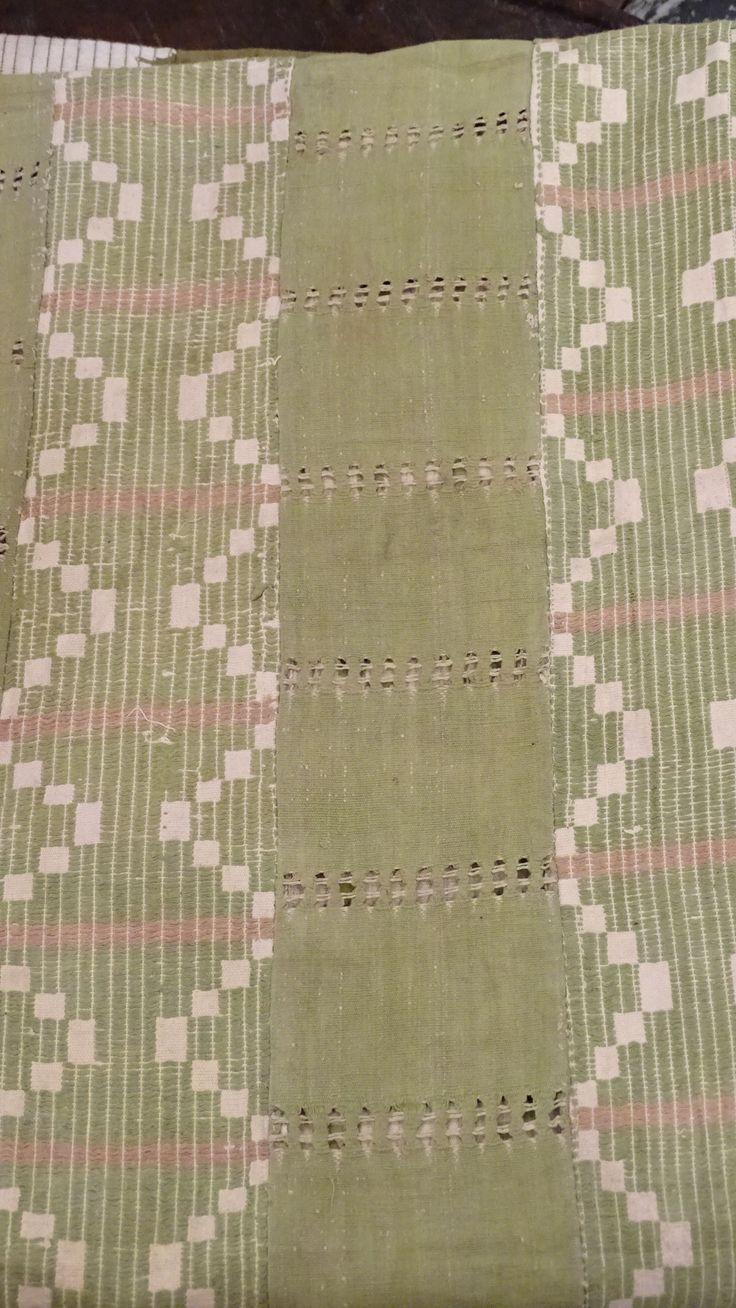 Ashoke cloth from Nigeria at Kim Sacks Gallery in Johannesburg