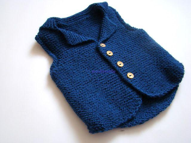 Spring Knits For Kids | Knit vest pattern, Baby jackets