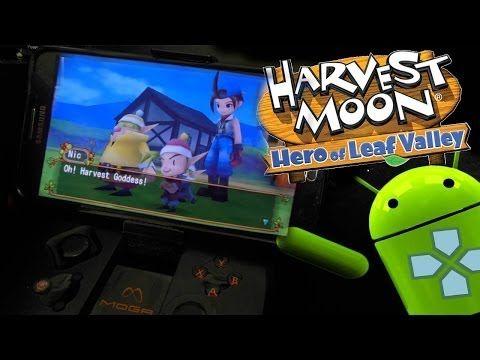 Harvest Moon - Hero of Leaf Valley APK + ISO PSP is a Popular